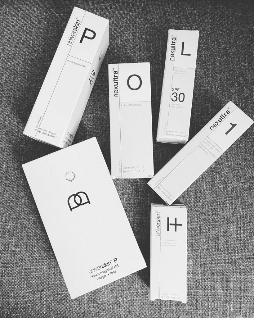 universkin personalised skincare products